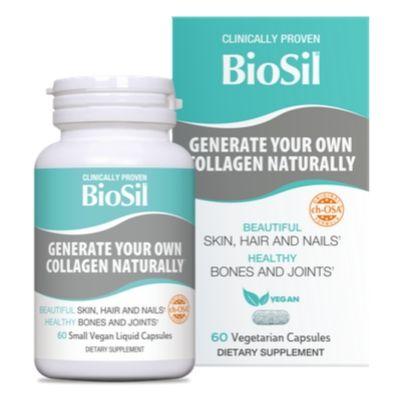 BioSil 60 caspule vegane generator avansat de colagen